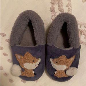 Fluffy Fox Slippers